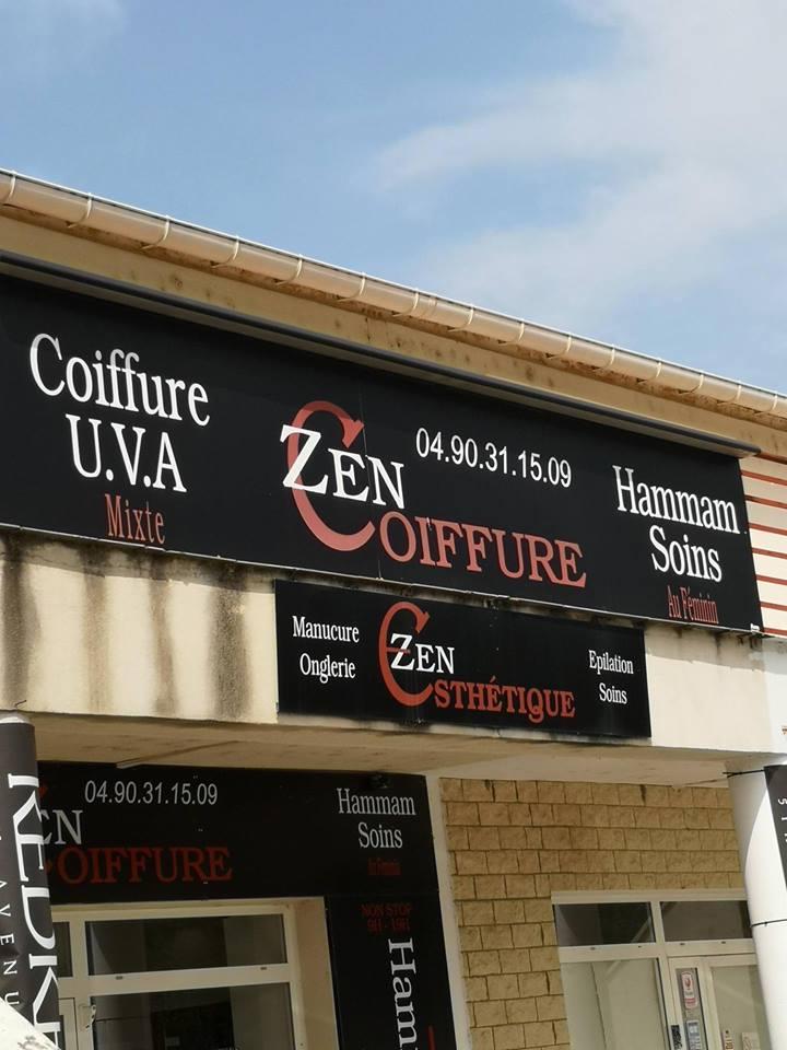 Installation d'une alarme intrusion au salon Zen coiffure Monteux