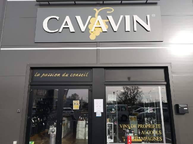 Installation d'un système de vidéosurveillance chez Cavavin Le Pontet